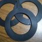 透明硅胶法兰垫片环保epdm法兰密封垫片橡胶耐磨圆形耐高温密封垫
